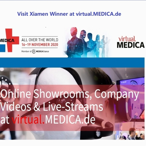 vamos nos encontrar no virtual MEDICA  2020  Winner-medi.com